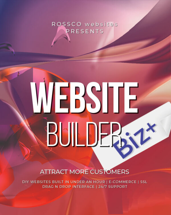 Product Image for ROSSCO Website Builder Biz+