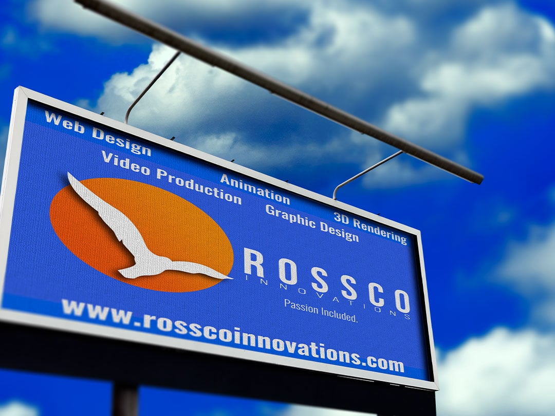 Photo of ROSSCO INNOVATIONS new billboard